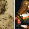 For centuries it was believed that Leonardo da Vinci made a pencil sketch of Isabella d'Este, but that he never completed a full portrait of the famous Renaissance noblewoman.