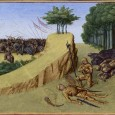 It is true, as the poem claims, that in 778 the rear guard of Charlemagne's army was massacred at Roncevaux. But in reality — and in contrast to the claims of the song — the Basques, and not the Muslims, destroyed the rear guard of the Frankish forces.