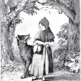 Looking at an early 11th century version of tale of Little Red Riding Hood