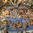 Michelangelo's Last Judgment is one of the world's most famous paintings, located in one of the world's most famous rooms, the Sistine Chapel.