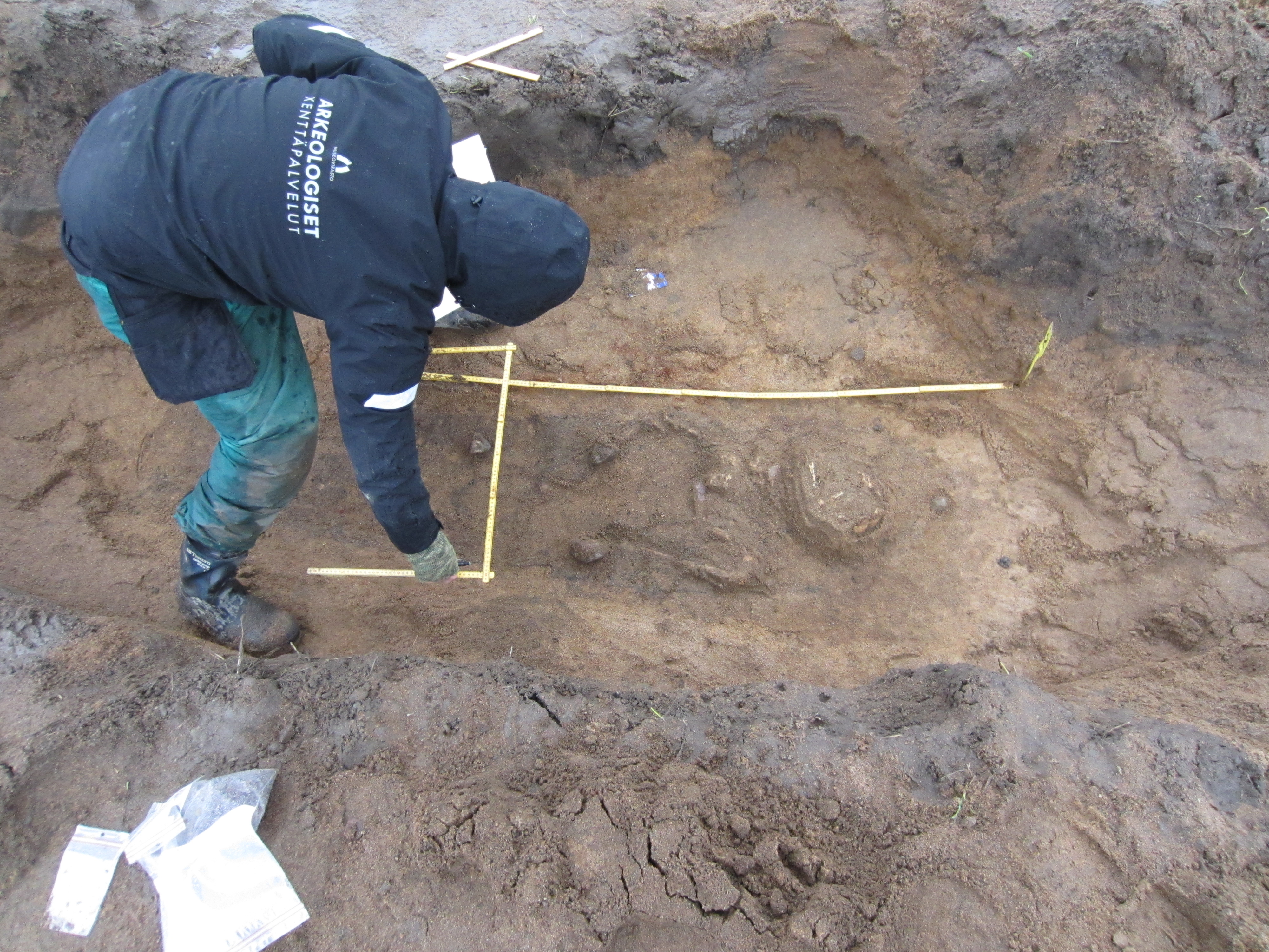 Grave of 12th-century warrior discovered in Finland
