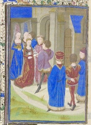 medieval marriage c.1470