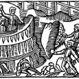 Although the winters could be long and harsh in medieval Sweden, the people still found time to have fun and games.