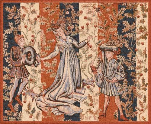 Baille des Roses - Medieval Belgian tapestry