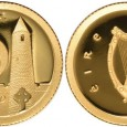 The coin features the Rock of Cashel, the traditional seat of the kings of Munster.