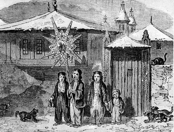 Christmas Carols - 19th century image