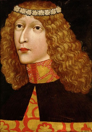 Ladislaus the Postumous at the age of 17