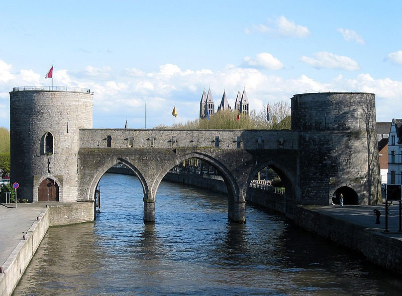 Famous medieval bridge in Belgium under threat from canal project