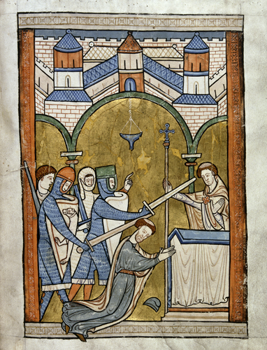 Saintly Rivals – a brief comparison of the cults of Thomas Becket and Edward the Confessor