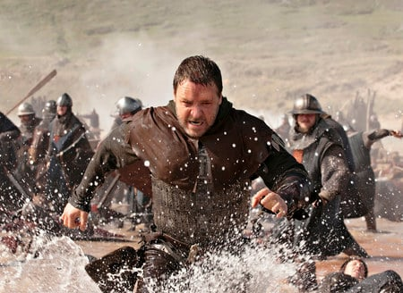 Medieval Movie Myth: You generally don't try to jump into sea with your armour on