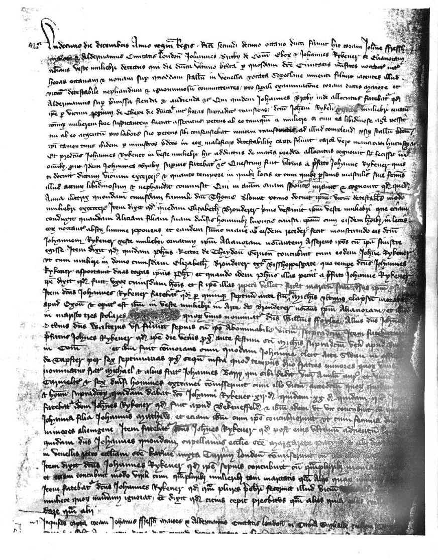 A Male Transvestite Prostitution In 14th Century London: The Testimony of John Rykener