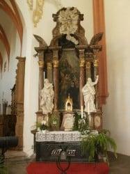 Elisabeth of Schönau - altar
