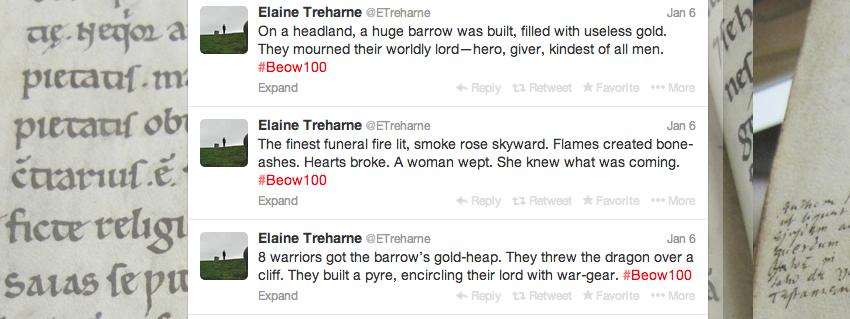 Beowulf in 100 Tweets