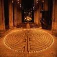 A medieval design based in Sacred Geometry principles, this unicursal path through concentric circles is a metaphorical container for spiritualjourneying.