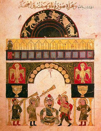 Water-powered automatic castle clock of Al-Jazari, 12th century.