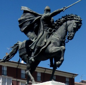 El Cid's statue