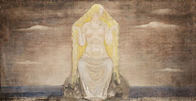 Freja by John Bauer (1882–1918).