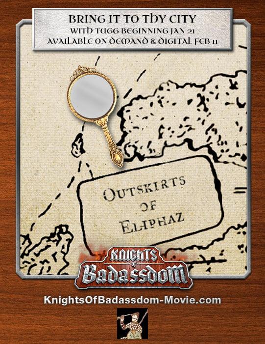 Knights of Badassdom map