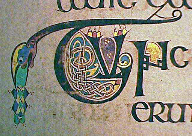 Book of Kells - Initial