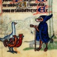 In this blogpost I will examine the illumination from the Maastricht Hours against these two traditions - the beast-fable of the Middle Ages and the Narrenschiff topos - but the point is to make sense of the image in view of these traditions, not to latch the illumination on to any of them.