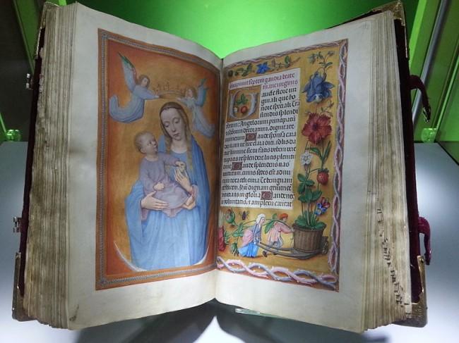 Rothschild prayerbook - photo by E2v/Wikicommons