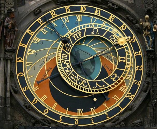 Tempus Fugit Clock Prague
