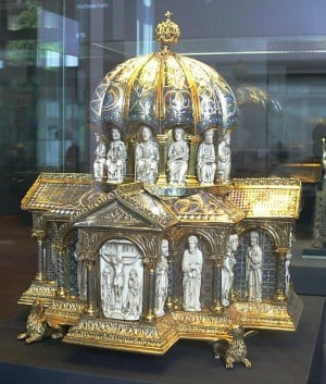 Dome reliquary, end of 12th century