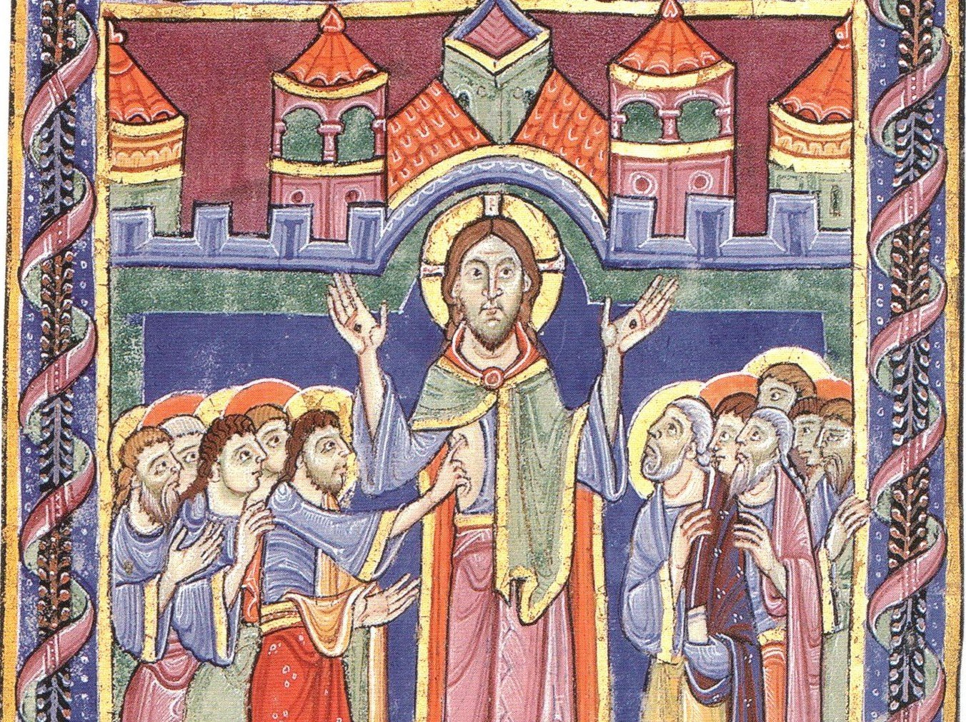 St albans psalter - image from Wikicommons Media