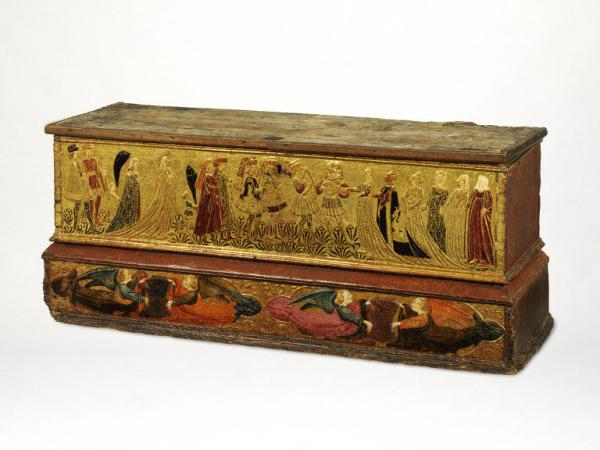 Florentine 15th c. wedding chest