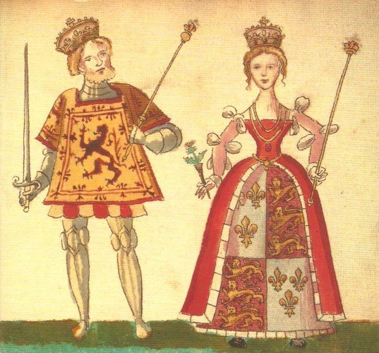 Joan Beaufort and James