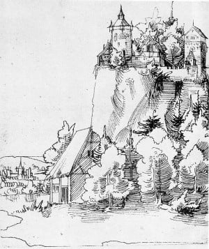 Drawing by Wolf Huber (1480–1553)