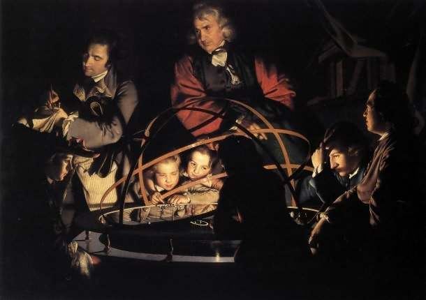 A Philosopher Lecturing on the Orrery - 18th century