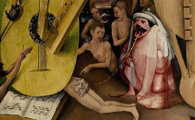 butt song from The Garden of Earthly Delights