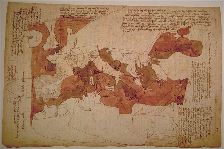 Seeing again : geometry, cartography and visions in the work of Opicinus de Canistris (1296-C.1354)