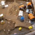 Workers doing renovations at the Uffizi Gallery in Florence, Italy have uncovered what seems to be the remains of a mass grave from the fifth-century AD.