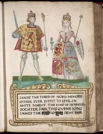 Margaret of Denmark, Queen of Scotland