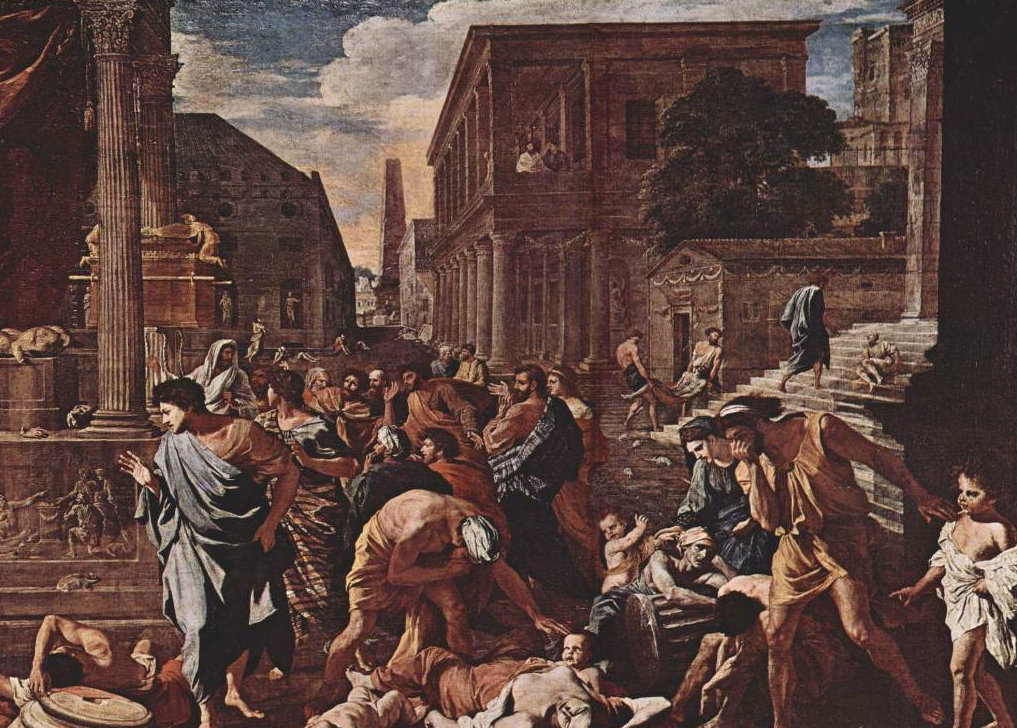 Image result for ancient rome plague