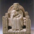 Carolingian Queen - ivory chess piece