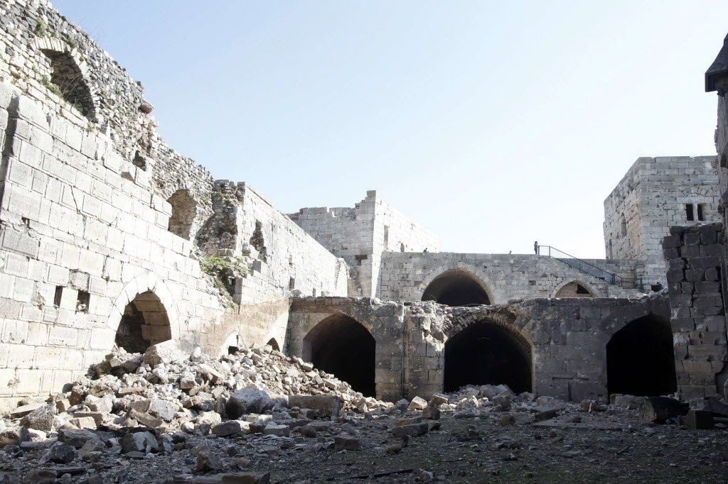 Syrian army captures Crac des Chevaliers