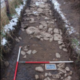 An archaeological team working in southern Scotland have uncovered the remains of a village that existed between the 14th and 16th centuries.