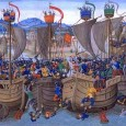 By early August, Edward received news that forty Castilian ships had gathered at Sluys and there were plans to attack England.