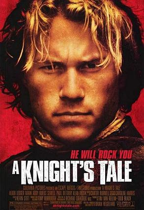 A Knight'sTale movie poster