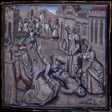 Death of Andronikos I Komnenos