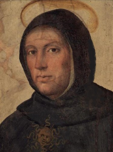 Thomas Aquinas by Fra Bartolommeo