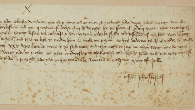 Signed, Sealed, Delivered: How Messages were sent in the Middle Ages