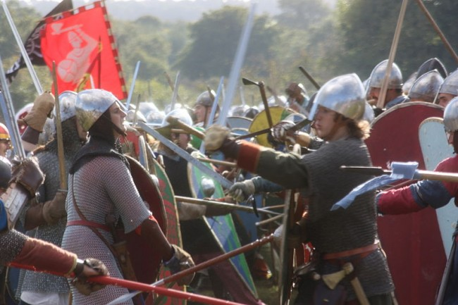 Battle of Hastings reenactment - photo by Antonio Borrillo