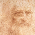 Studying a famous Leonardo self-portrait, a team of scientists has developed a new, nondestructive way to gauge degradation of ancient paper art and docs