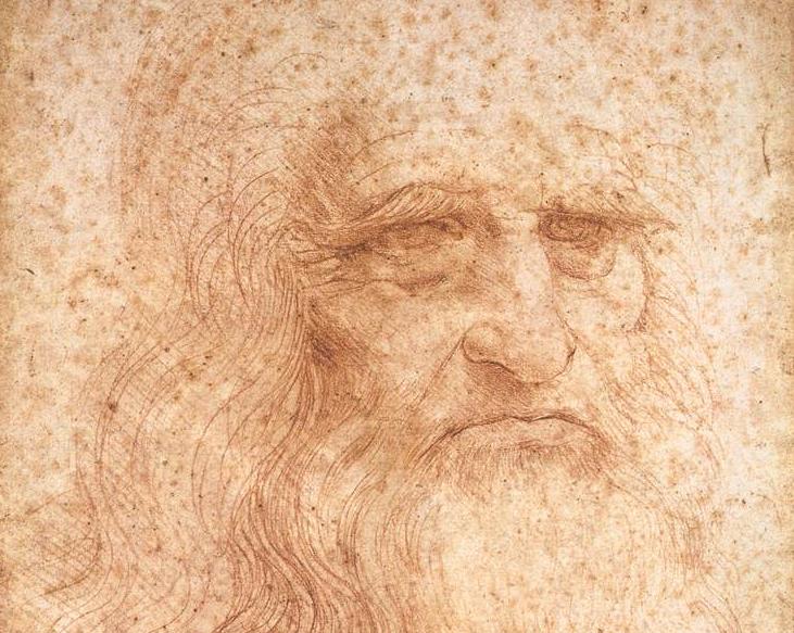 Leonardo da Vinci self portrait