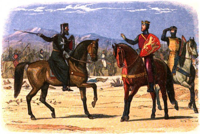 richard and saladin the third crusade Discover facts about the life of king richard i, also known as 'richard the  richard's chief ambition was to join the third crusade, prompted by saladin's capture.