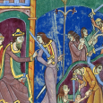 The early 12th century psalter manuscript of St. Albans in Hertfordshire, which is currently in the possession of the church parish of St. Godehard in Hildesheim, Germany, has attracted much attention due to the richness of its illustration.